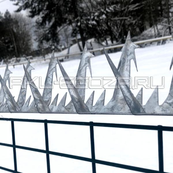 """шипы на забор """"Большая звезда"""""""