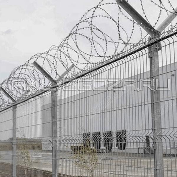 СББ АКЛ на 3d заборе