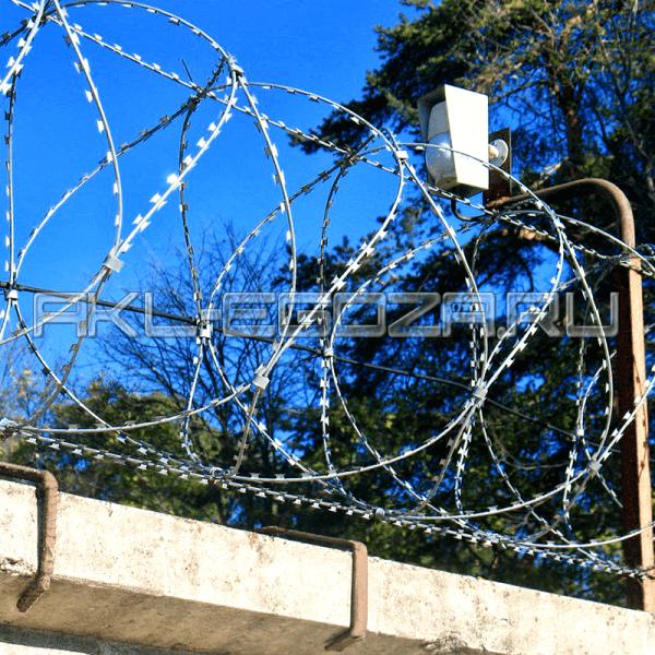 спиральный барьер безопасности СББ АКЛ