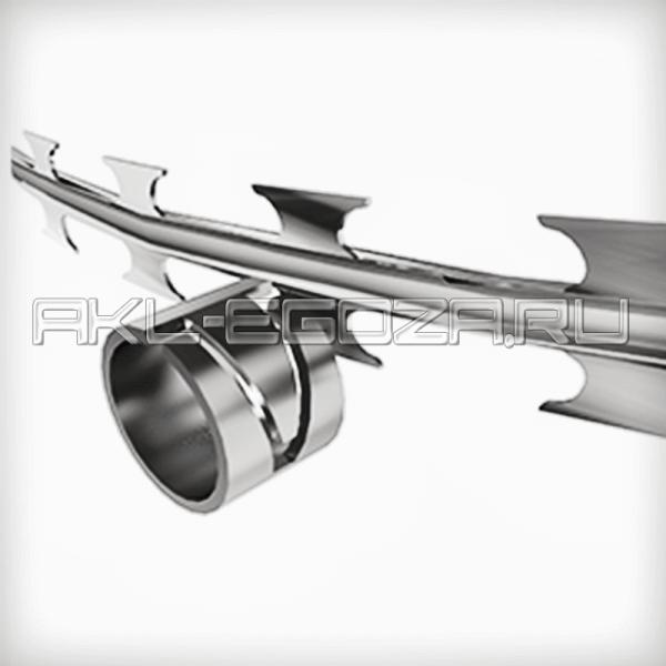 Оцинкованная обжимная клипса для пневматического инструмента