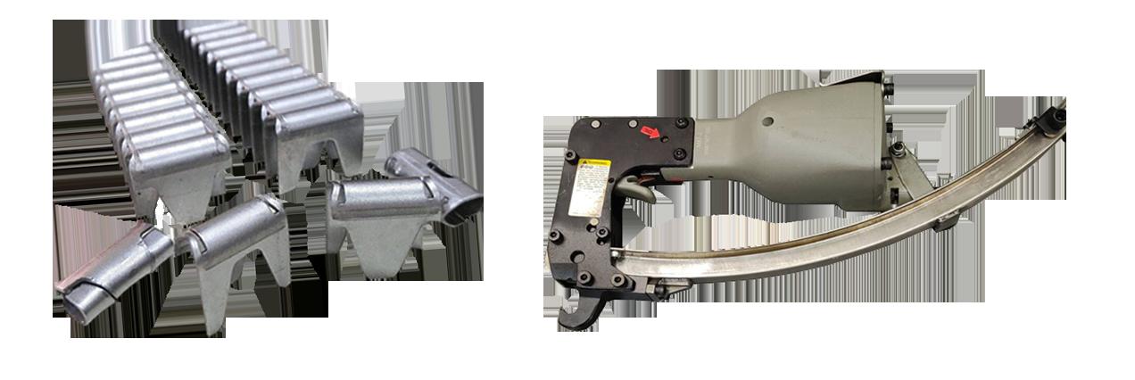 Скоба  (клипса) обжимная для пневмоинструмента CL-37